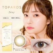 TOPARDS/1day10枚入り/ハニーアンバー