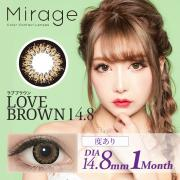 Mirage/LOVE BROWN 14.8/度あり1箱1枚入り