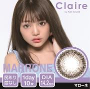 Claire1day by MAX COLOR/マローネ/10枚入り