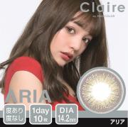 Claire1day by MAX COLOR/アリア/10枚入り